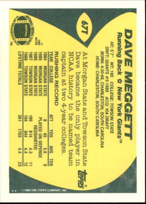 1989-Topps-Traded-Football-Card-Pick thumbnail 105