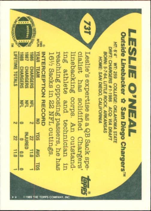 1989-Topps-Traded-Football-Card-Pick thumbnail 115