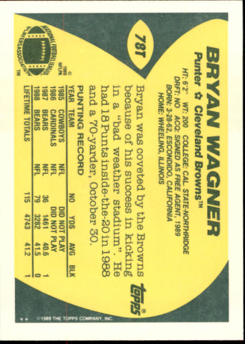 1989-Topps-Traded-Football-Card-Pick thumbnail 123