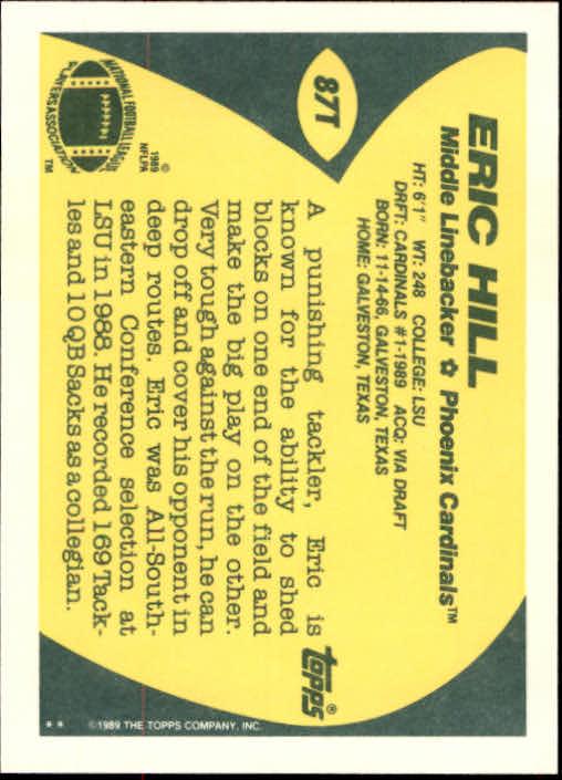 1989-Topps-Traded-Football-Card-Pick thumbnail 133