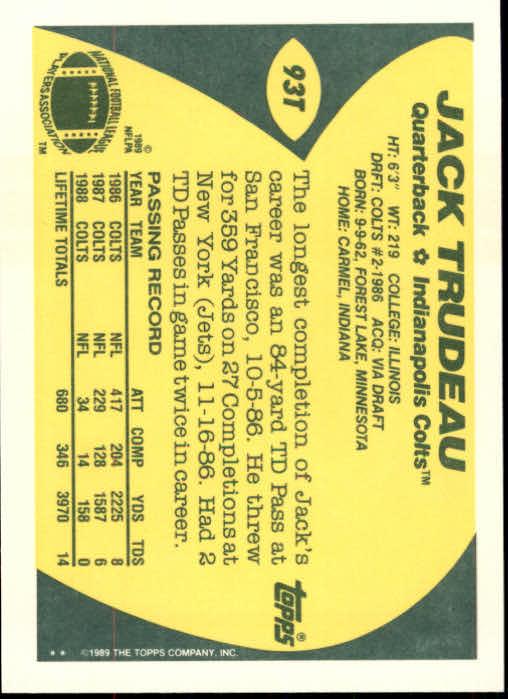 1989-Topps-Traded-Football-Card-Pick thumbnail 141