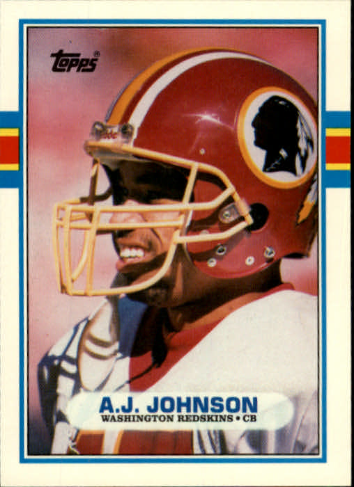 1989 Topps Traded #96T A.J.Johnson RC