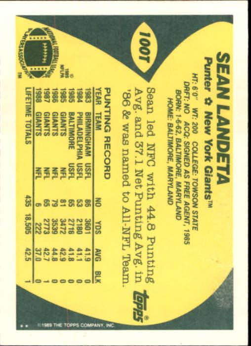 1989-Topps-Traded-Football-Card-Pick thumbnail 153