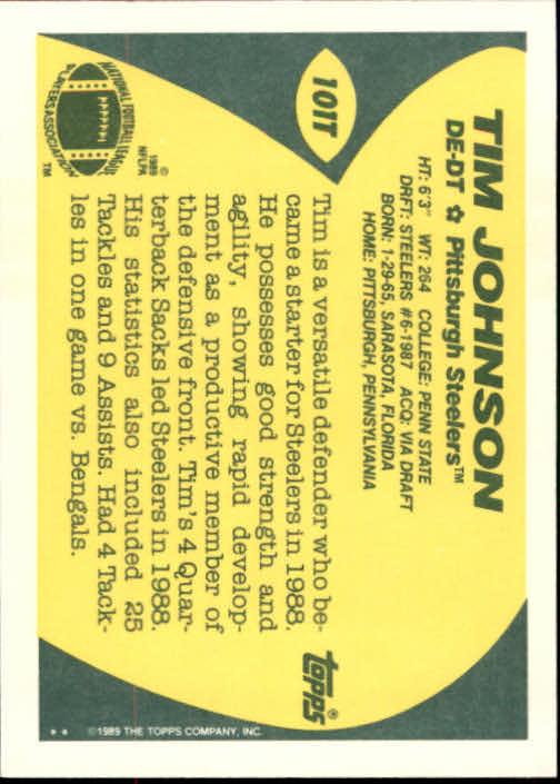 1989-Topps-Traded-Football-Card-Pick thumbnail 155
