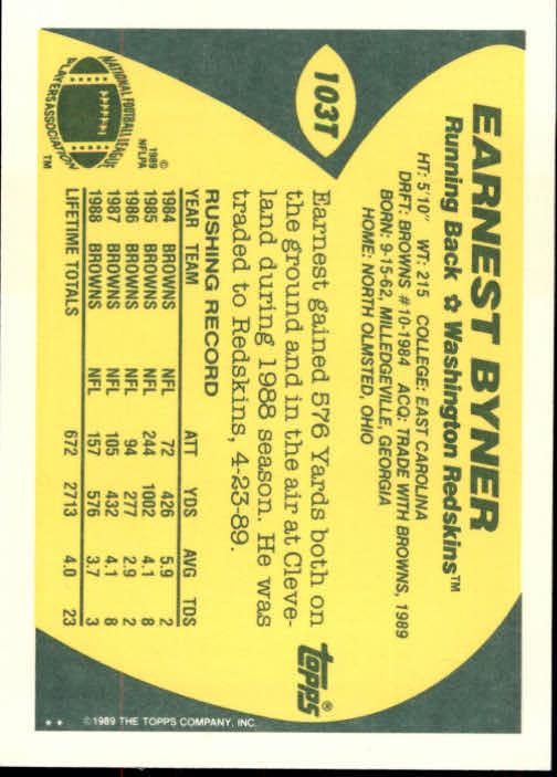 1989-Topps-Traded-Football-Card-Pick thumbnail 157