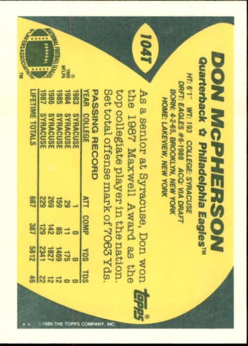 1989-Topps-Traded-Football-Card-Pick thumbnail 159
