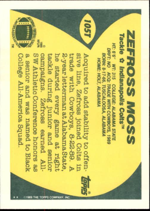 1989-Topps-Traded-Football-Card-Pick thumbnail 161