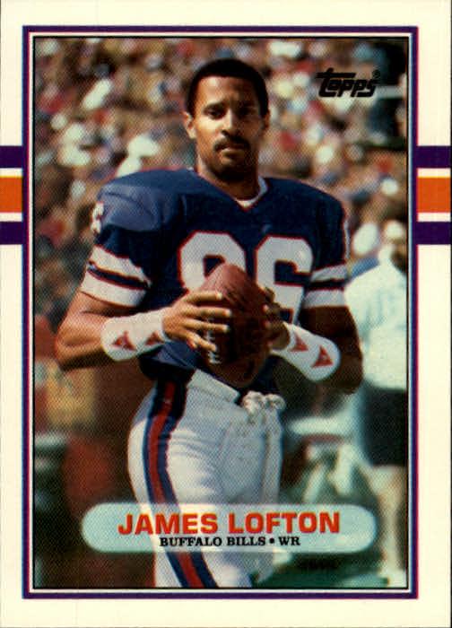 1989 Topps Traded #109T James Lofton