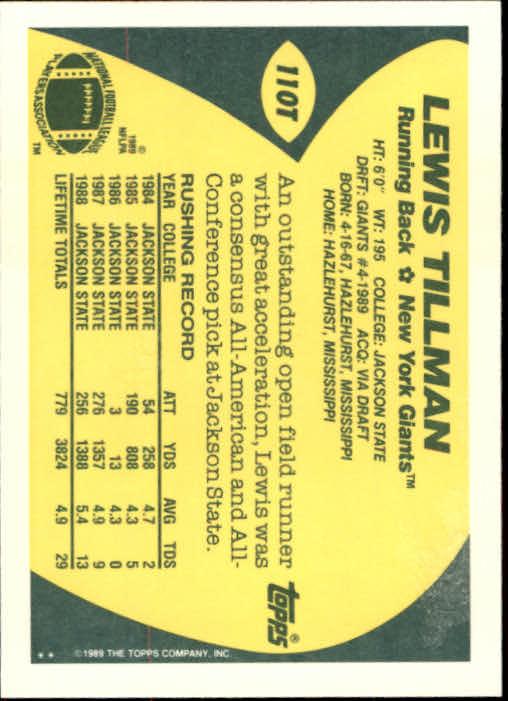 1989-Topps-Traded-Football-Card-Pick thumbnail 171