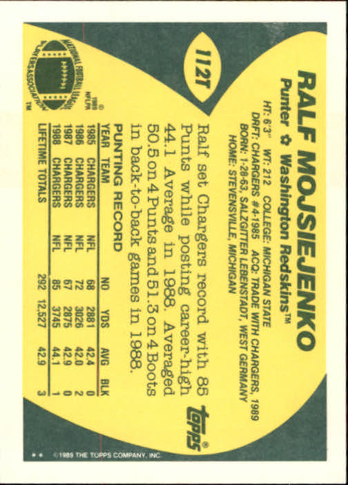 1989-Topps-Traded-Football-Card-Pick thumbnail 175