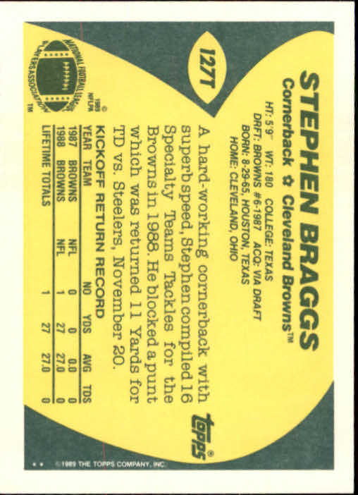 1989-Topps-Traded-Football-Card-Pick thumbnail 201