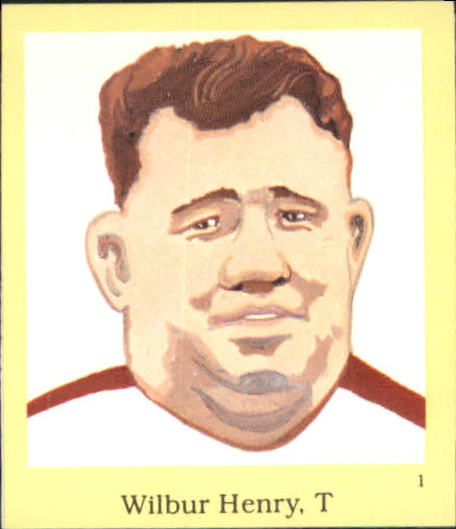 1990 Hall of Fame Stickers #1 Fats Henry