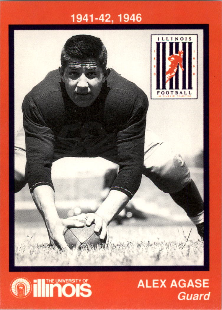 1990 Illinois Centennial #5 Alex Agase