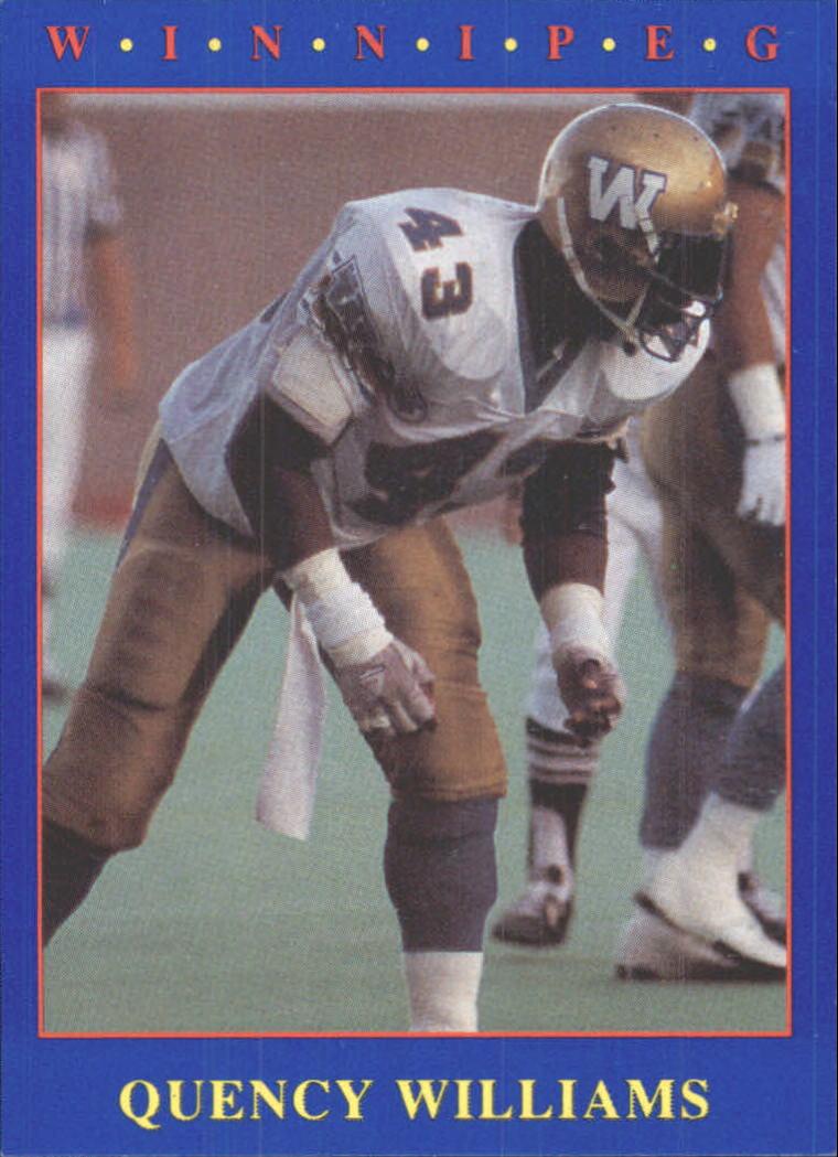 1990 JOGO #117 Quency Williams