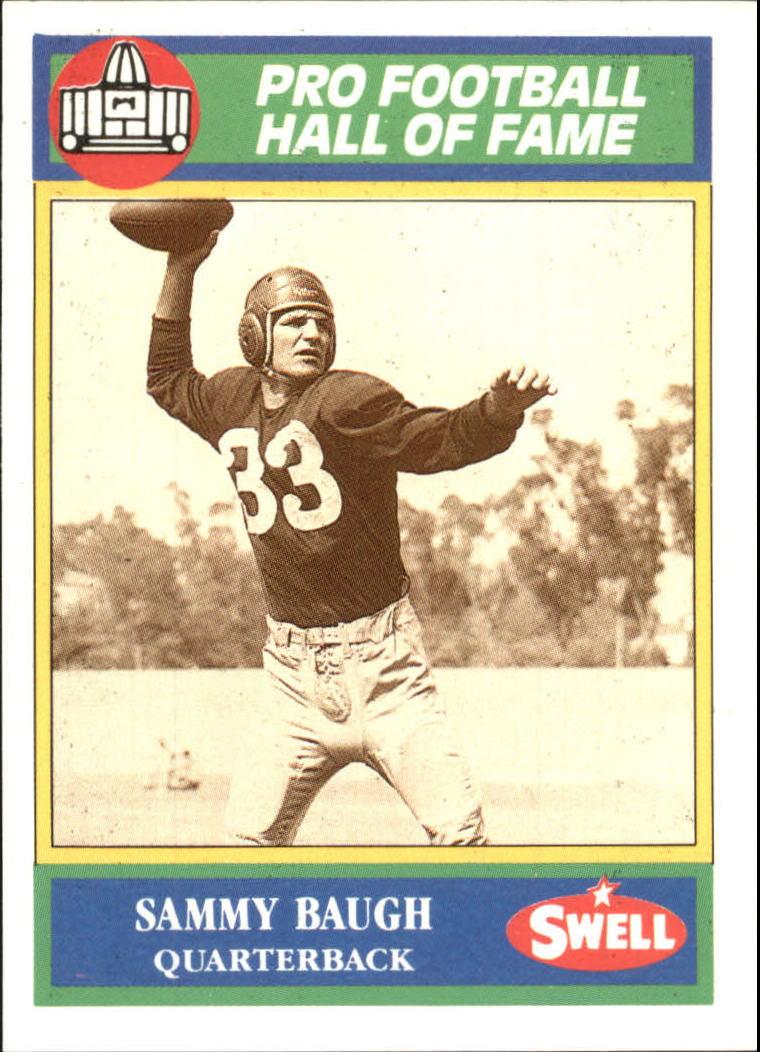 1990 Swell Greats #38 Sammy Baugh