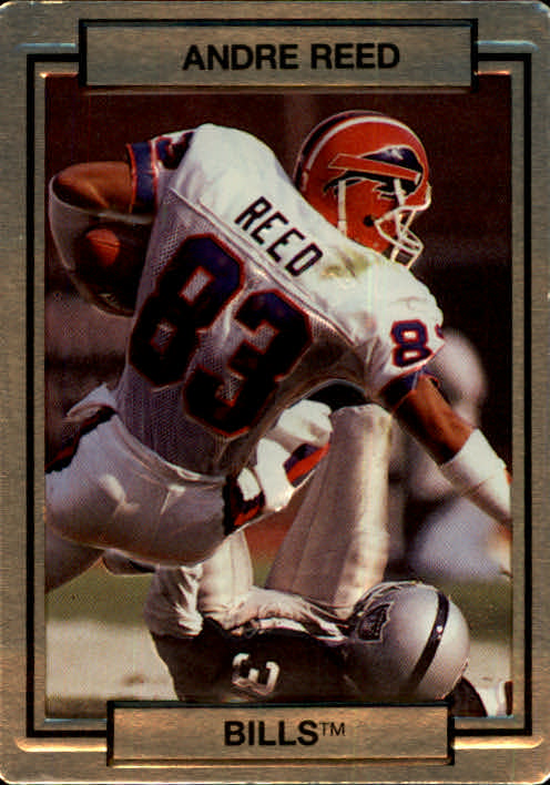 1990 Action Packed #17 Andre Reed