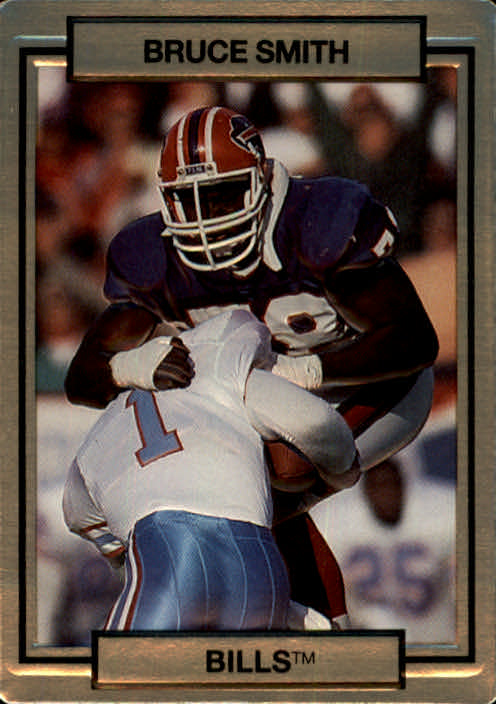 1990 Action Packed #19 Bruce Smith
