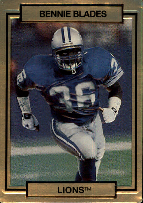 1990 Action Packed #73 Bennie Blades