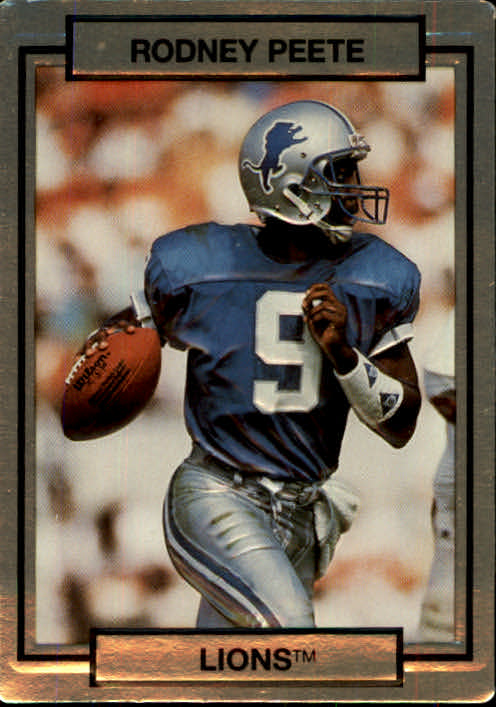 1990 Action Packed #77 Rodney Peete UER