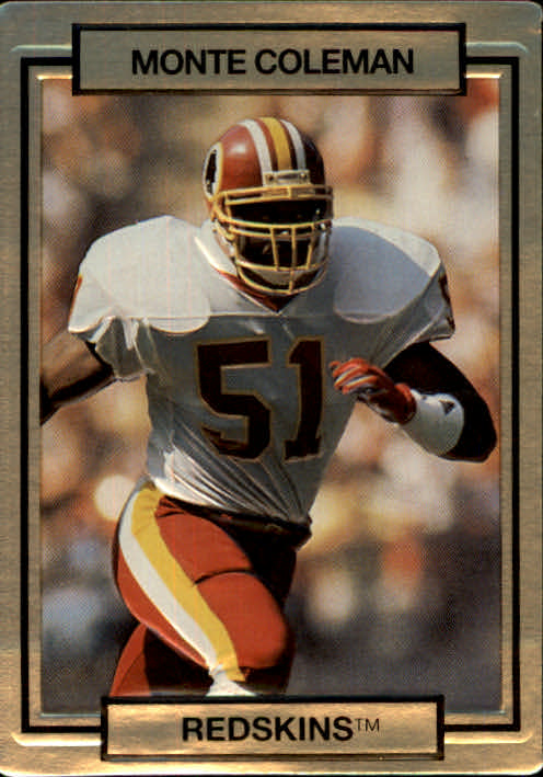 1990 Action Packed #272 Monte Coleman