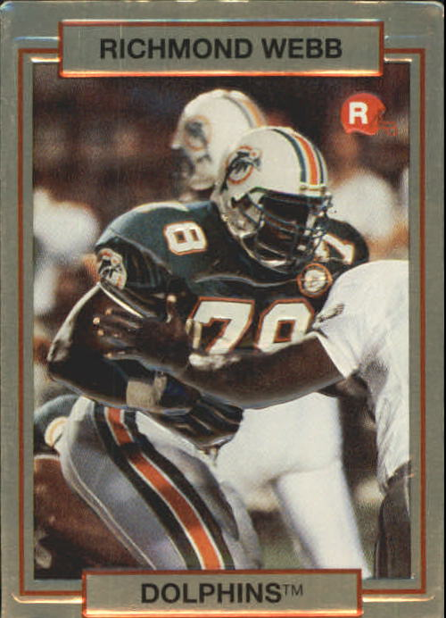 1990 Action Packed Rookie Update #2 Richmond Webb RC