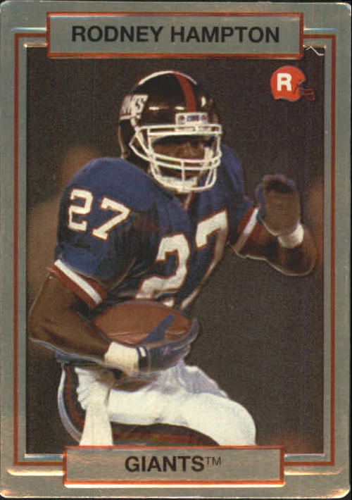 1990 Action Packed Rookie Update #7 Rodney Hampton RC