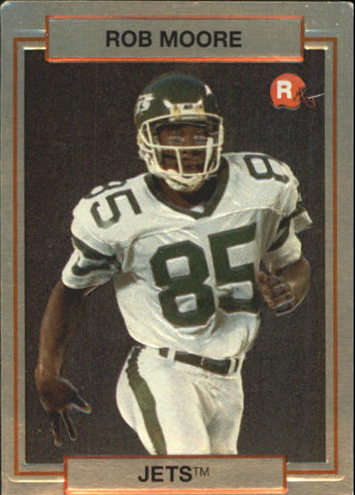 1990 Action Packed Rookie Update #8 Rob Moore RC