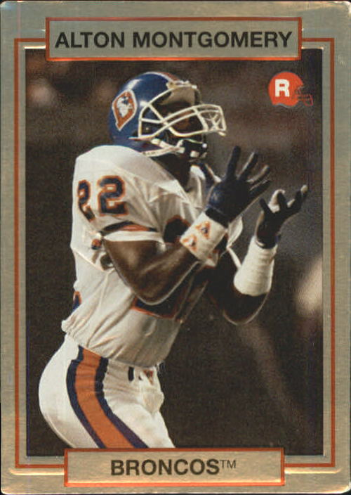 1990 Action Packed Rookie Update #9 Alton Montgomery RC
