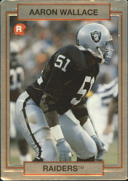 1990 Action Packed Rookie Update #20 Aaron Wallace RC