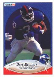 1990 Fleer #73 Dave Meggett