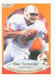 1990 Fleer #356 Vinny Testaverde