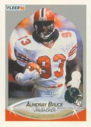 1990 Fleer #371 Aundray Bruce