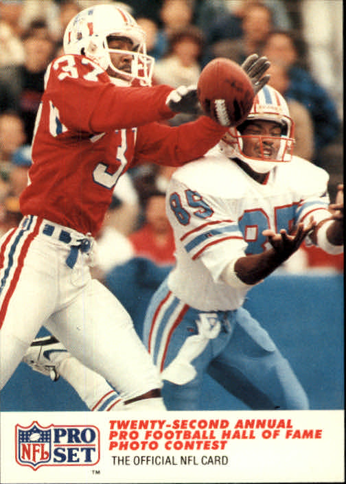 1990 Pro Set #792 Maurice Hurst/Drew Hill PHOTO