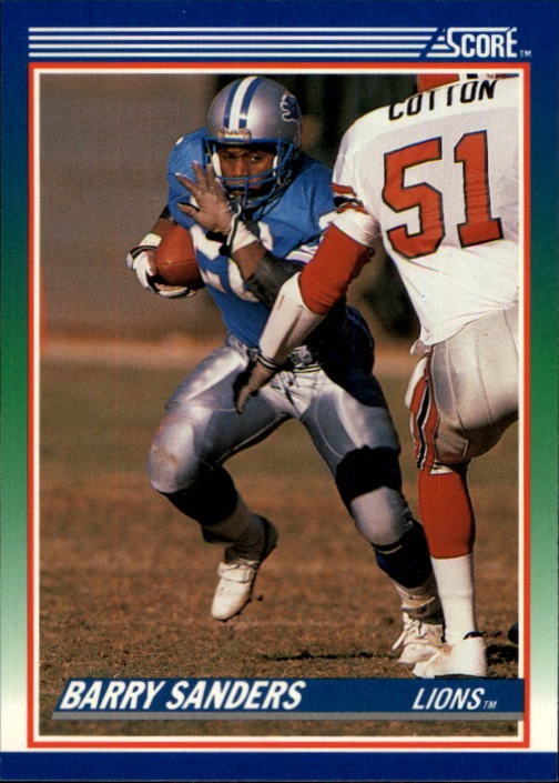 Details About 1990 Score Football Card 20 Barry Sanders