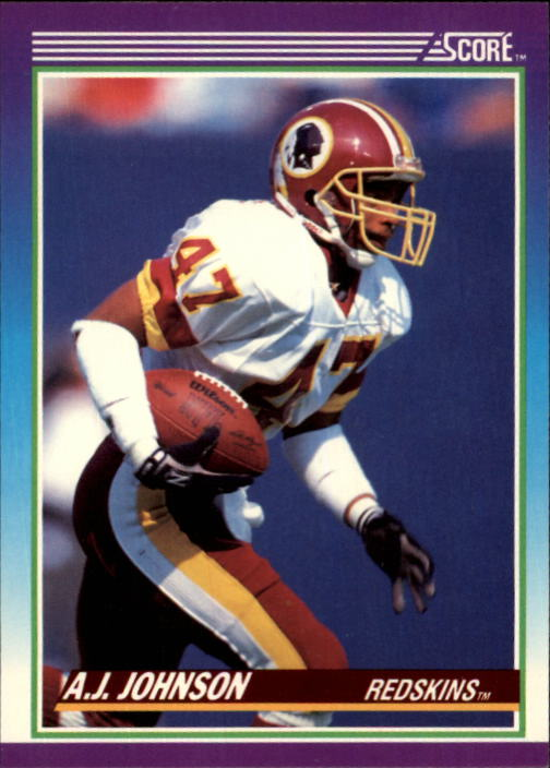 1990 Score #157 A.J. Johnson
