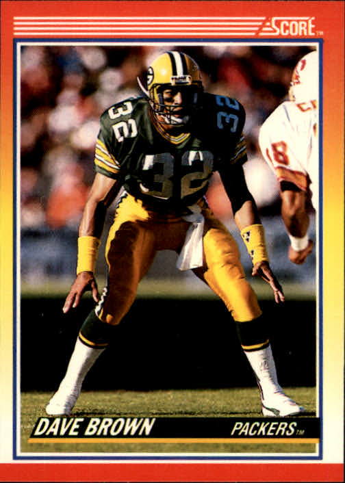1990 Score #229 Dave Brown DB