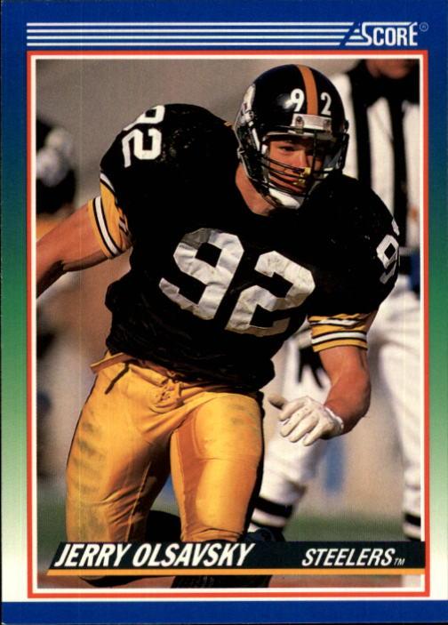 1990 Score #367 Jerry Olsavsky