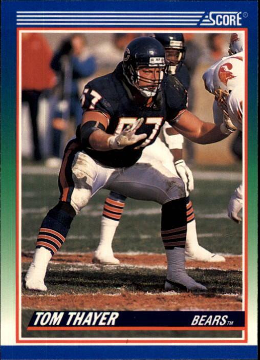 1990 Score #382 Tom Thayer RC