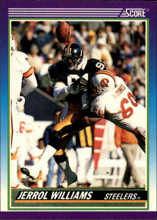1990 Score #501 Jerrol Williams
