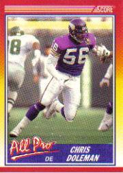 1990 Score #575 Chris Doleman AP
