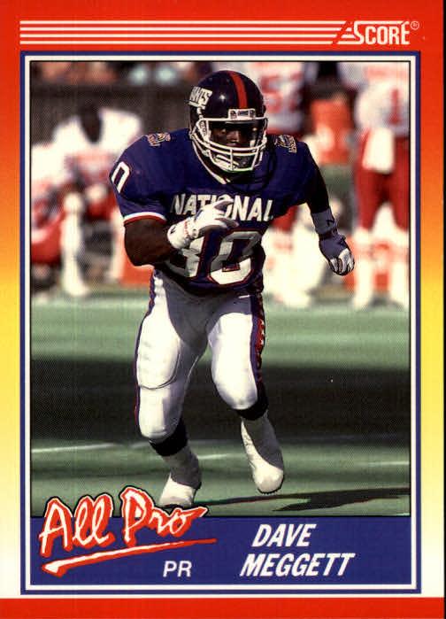 1990 Score #576 Dave Meggett AP