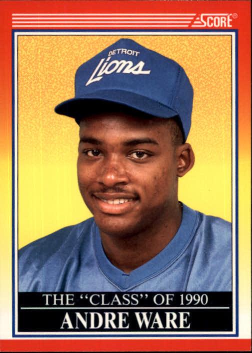 1990 Score #607 Andre Ware C90