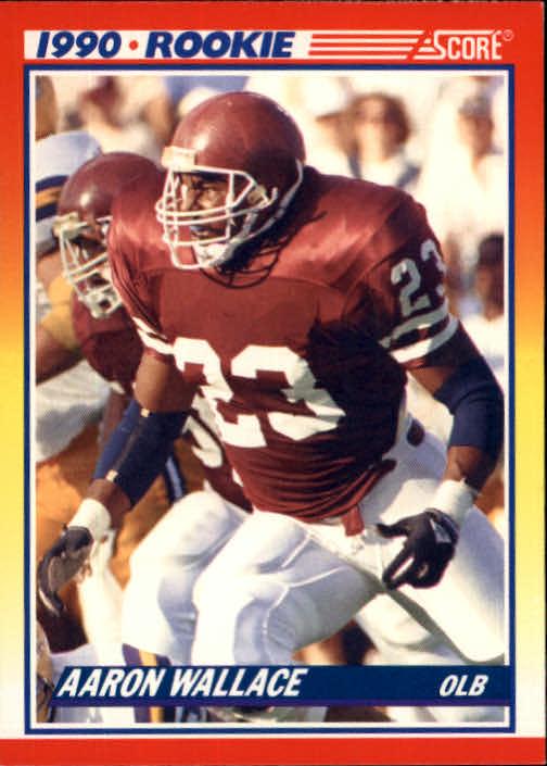 1990 Score #620 Aaron Wallace RC