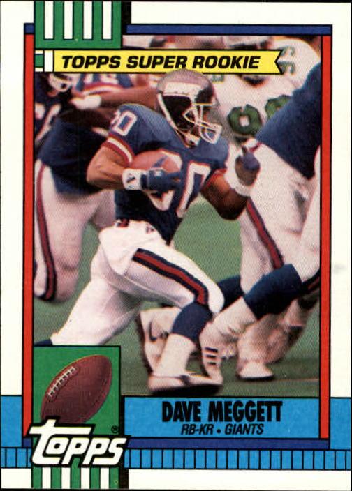 1990 Topps #49 Dave Meggett
