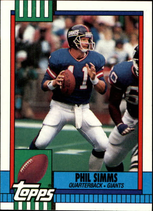 1990 Topps #51 Phil Simms