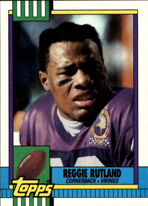 1990 Topps #113 Reggie Rutland RC