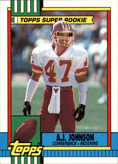 1990 Topps #124 A.J. Johnson