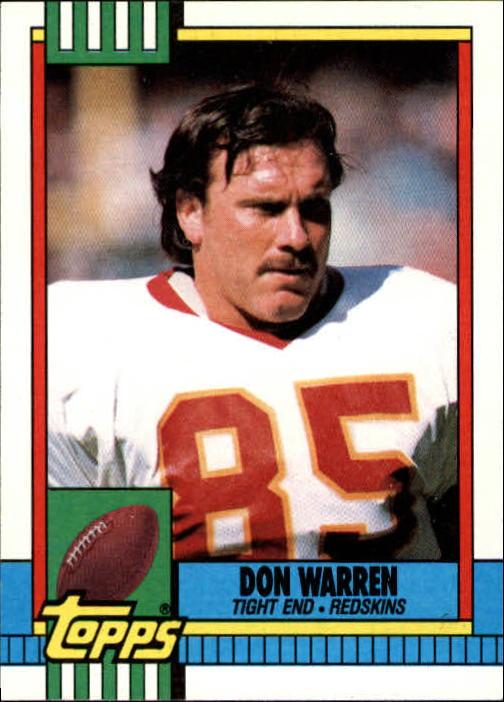 1990 Topps #132 Don Warren