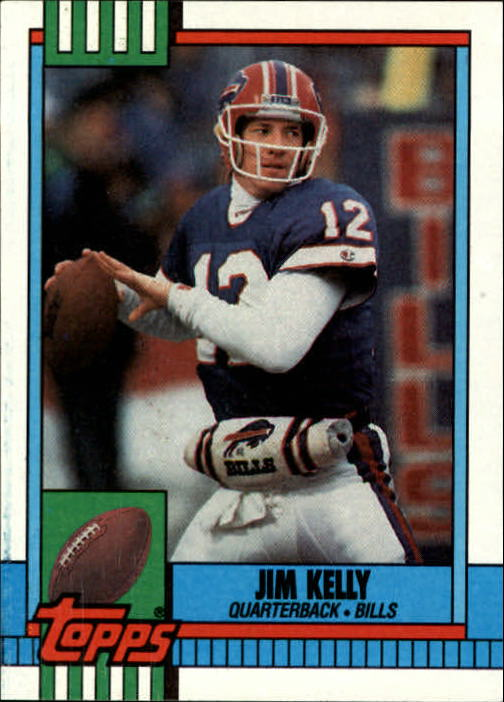 1990 Topps #207 Jim Kelly