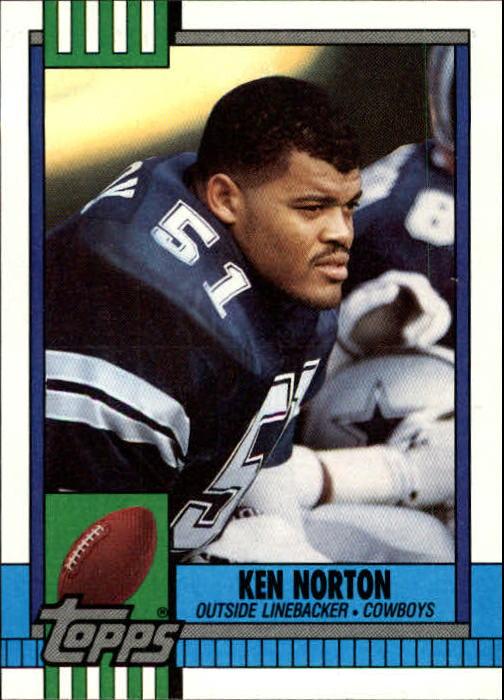 1990 Topps #486 Ken Norton Jr. RC